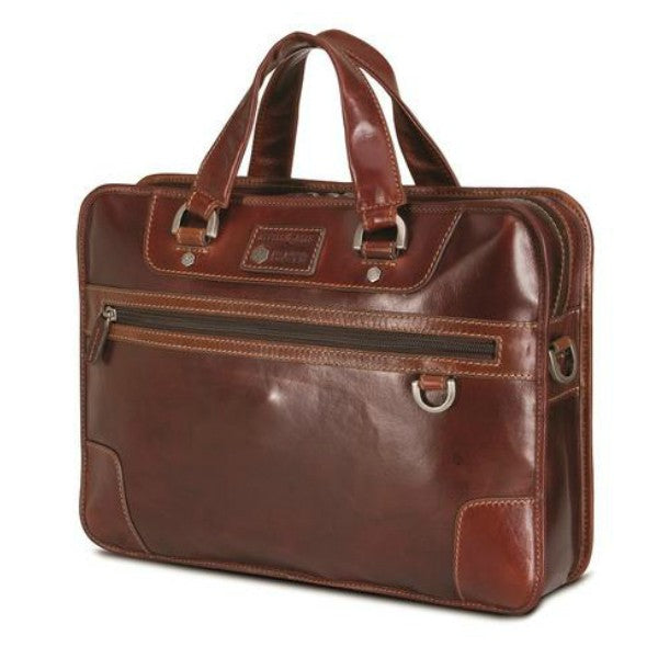 "Jekyll & Hide Oxford 15"" Laptop Briefcase Black"