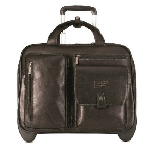 Jekyll and Hide Montana RFID Business Cabin Trolley Black