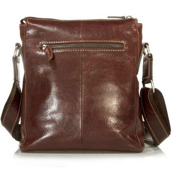 Jekyll & Hide Oxford Crossbody Brown