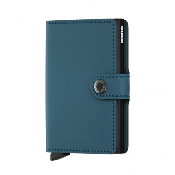 Secrid Matte Mini Wallet Blue