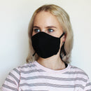 Scuba Diving Material 3 Ply Reusable Face Mask Black