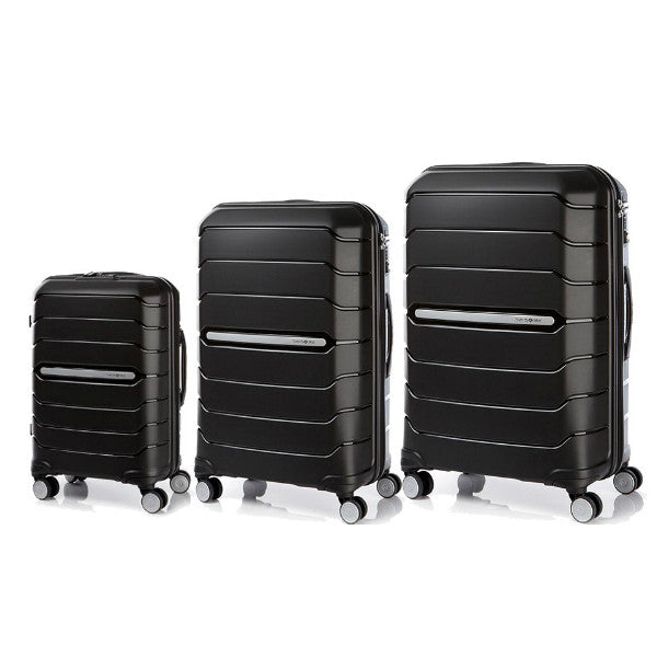 Samsonite Flux 3 Piece Set Black