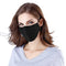 Scuba Three layer Reusable Face Mask Black