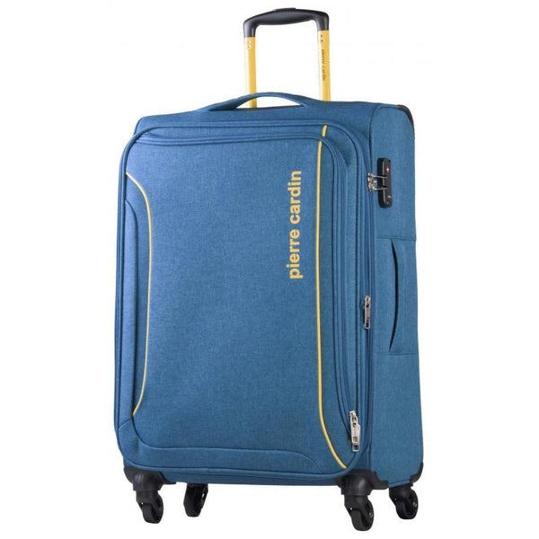Pierre Cardin Ultralight 4 Wheel 55cm Blue