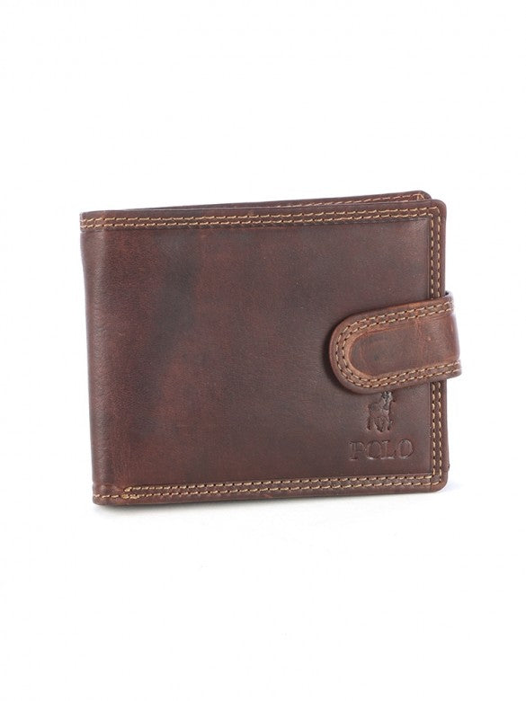 Polo Tuscany Tab Wallet Brown
