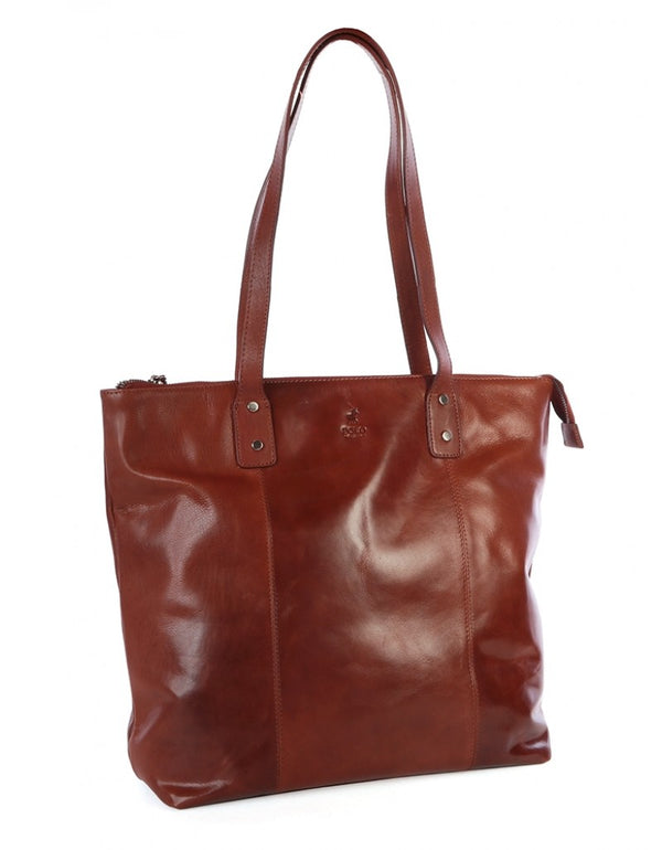 Polo Coachella Shopper Bag Brown