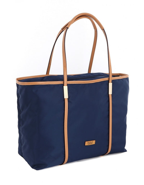 Polo Soho Tote Handbag Navy