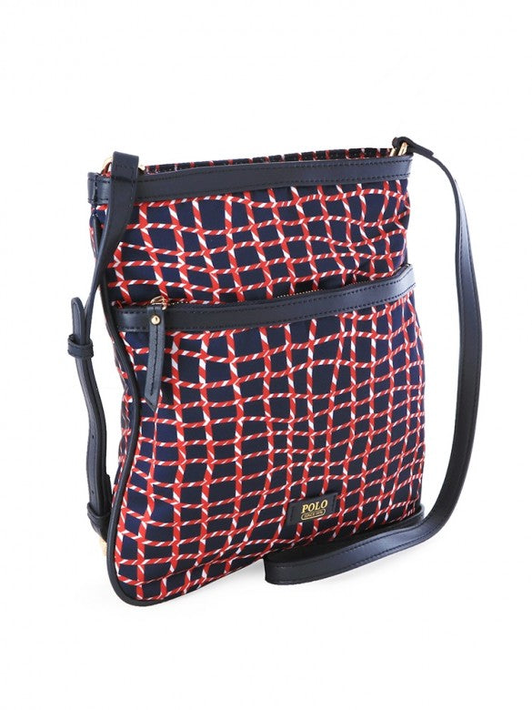 Polo Soho Cross-Body Sling Rope Print