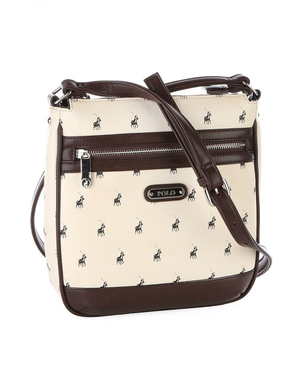 Polo Classic Sling Bag White