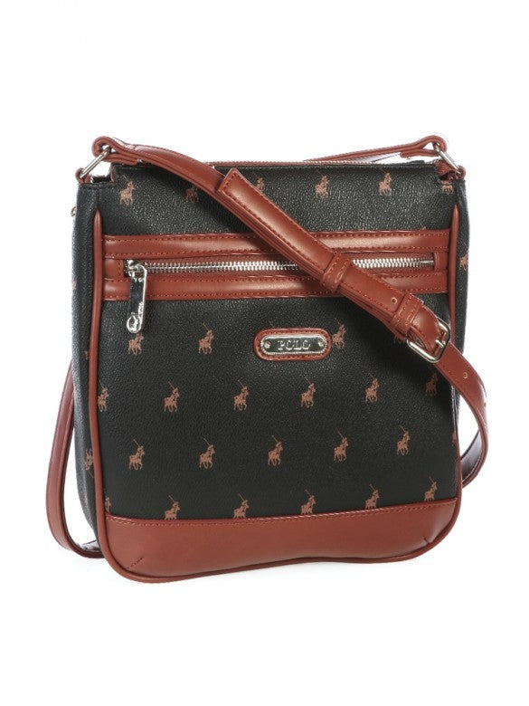 Polo Classic Sling Bag Brown