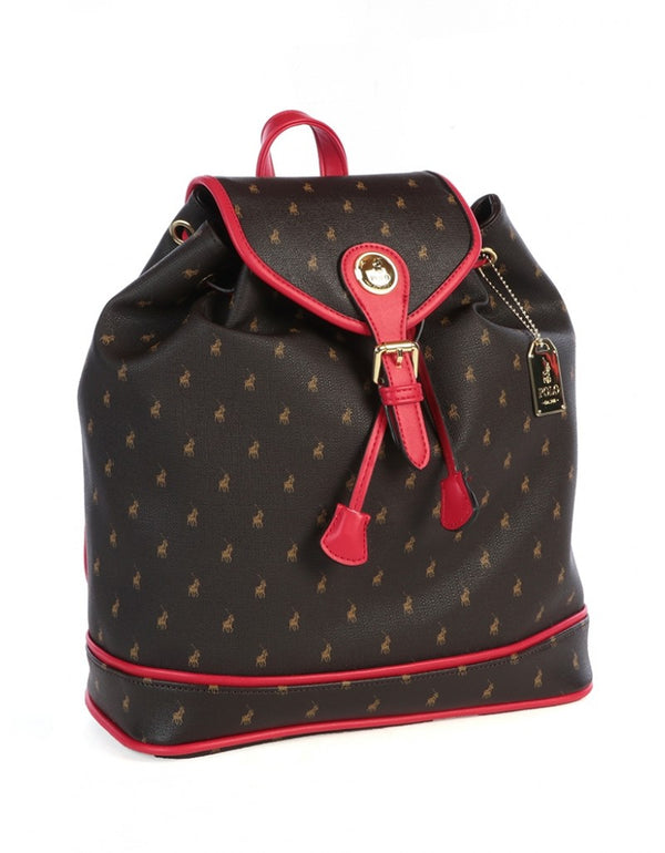 Polo Ascot Backpack Brown