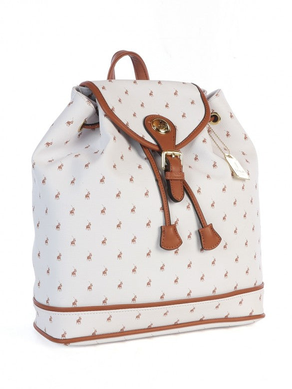 Polo Ascot Backpack White