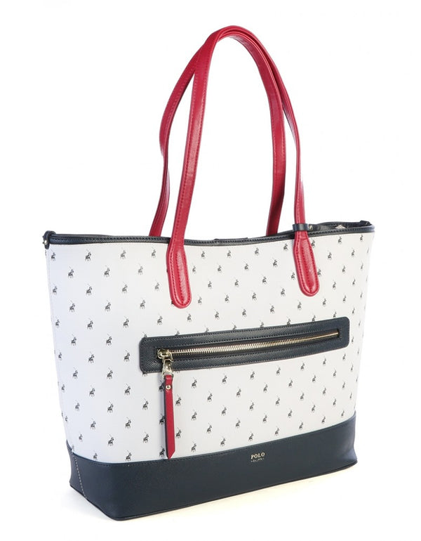 Polo Monticello Carry All Tote Navy/White