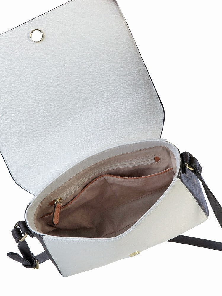 Polo Monticello Flap Over Sling Brown/White