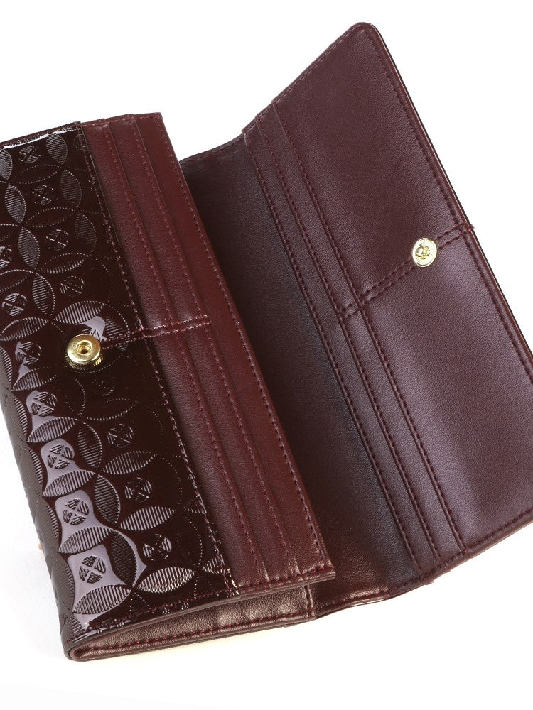 Polo Berkley Clutch Purse Brown