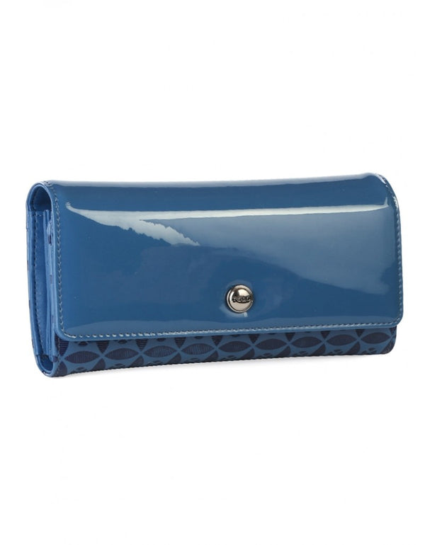 Polo Berkley Trifold Purse Blue