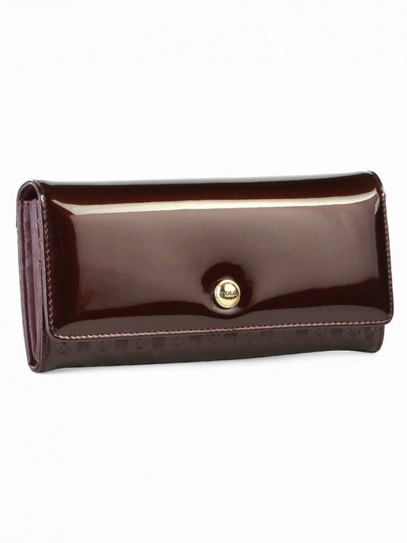 Polo Berkley Trifold Purse Brown