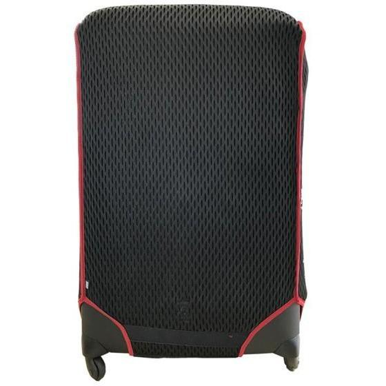 Luggage Glove Diamond Mesh Medium Red
