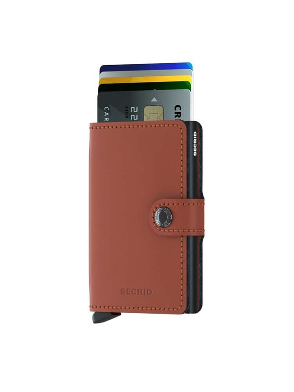 Secrid Matte Mini Wallet Brown
