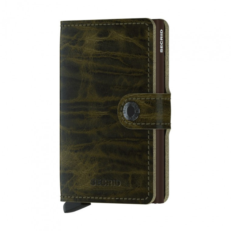 Secrid Dutch Martin Mini Wallet Olive