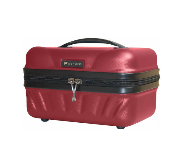 Paklite Atlantis Vanity Case Red