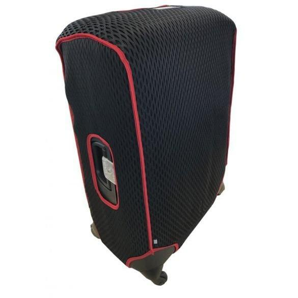 Luggage Glove Diamond Mesh Small Red