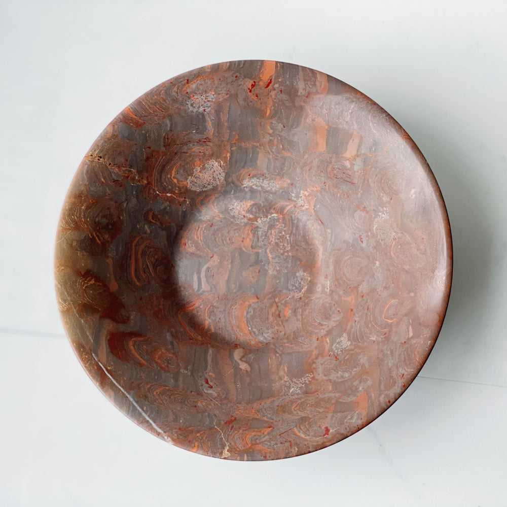 Heavy Stone Decorative Bowl