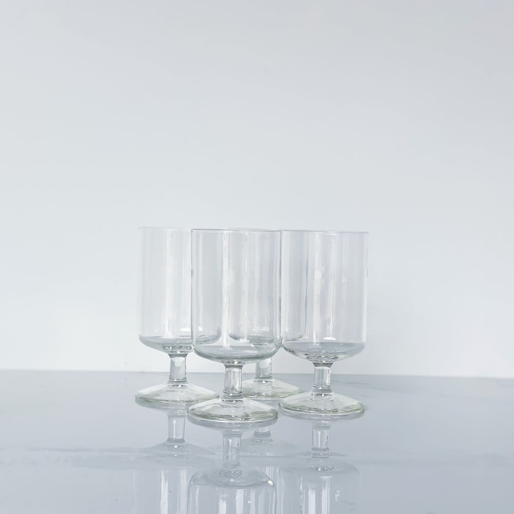 Modern Cordial Glasses (Set of 4)