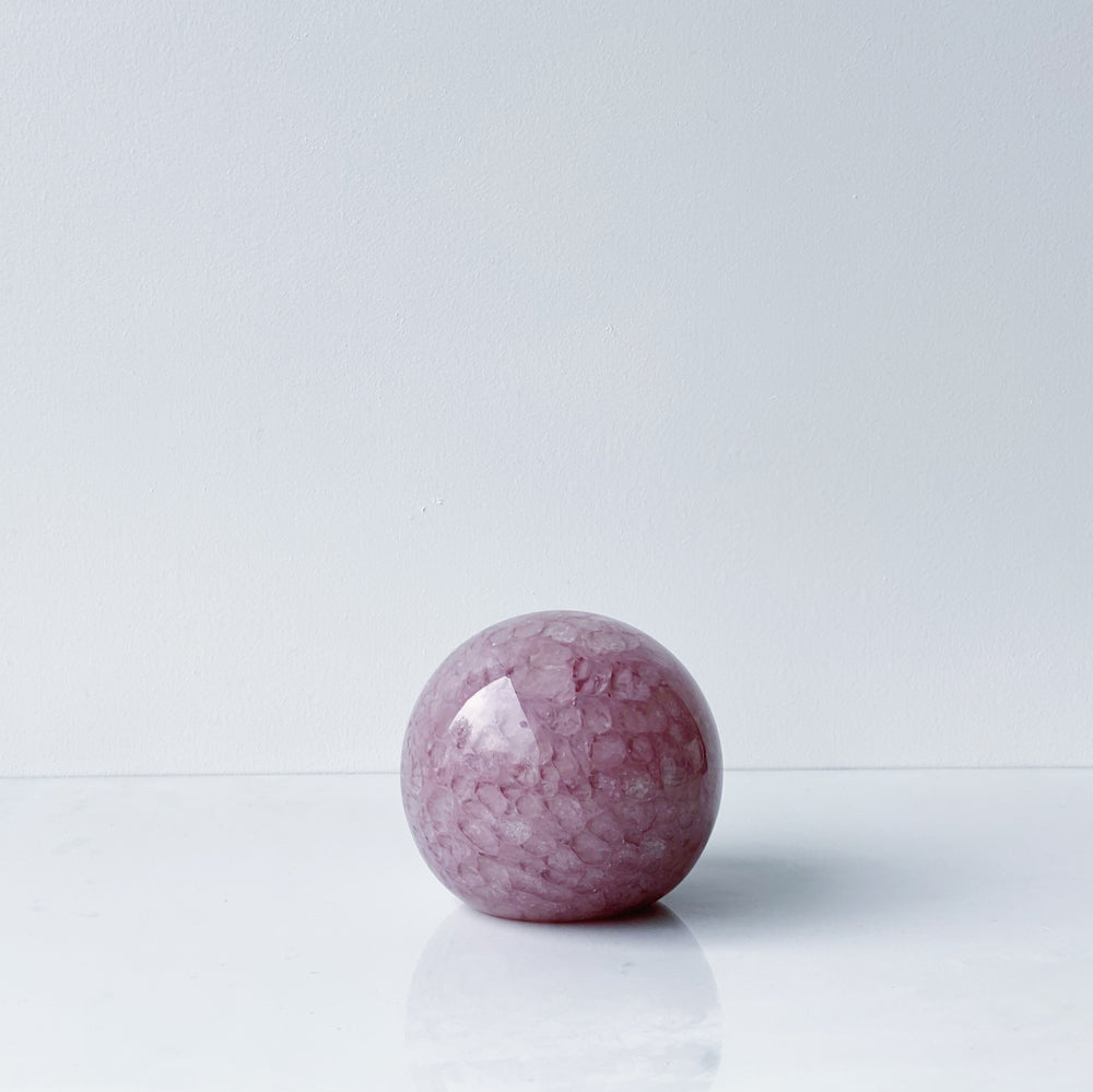 Purpley Paperweight