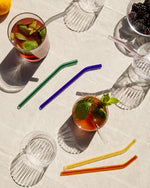 Glass Straws in Cool (Set of 4)