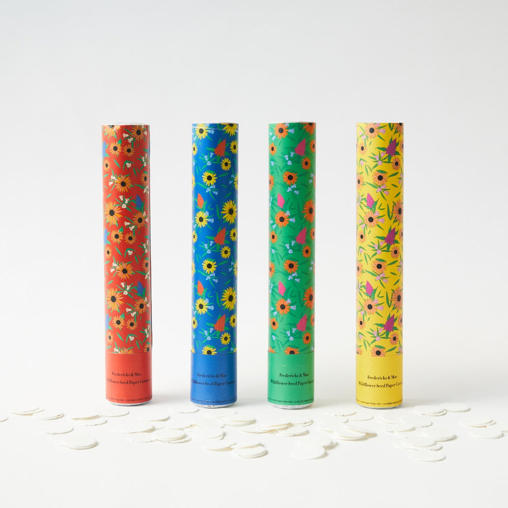 Confetti Cannon with Wild Flower Seed Paper