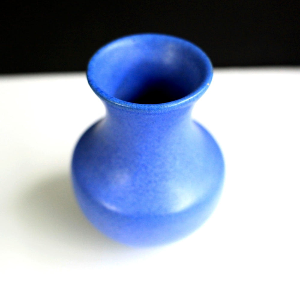 Little Blue Ceramic Vase