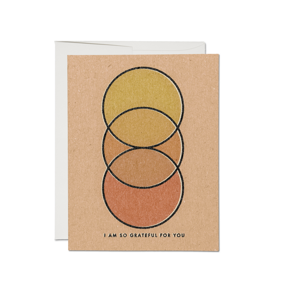 'I Am Grateful for You' Greeting Card