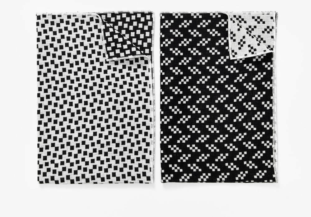 Bitmap Tea Towels - Bits/Static (Set of 2)