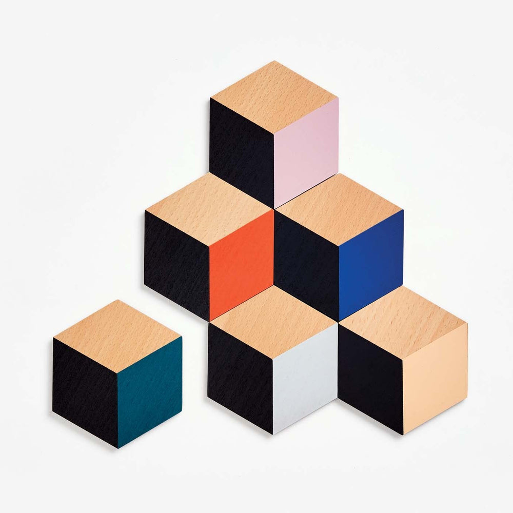 Table Tiles - Modern Multi-Colored