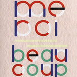'Merci Beaucoup' Greeting Card