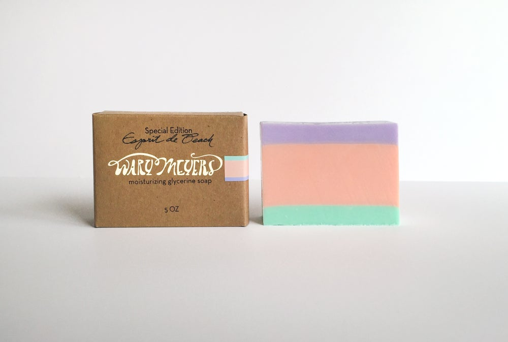 """Esprit de Peach"" Soap"