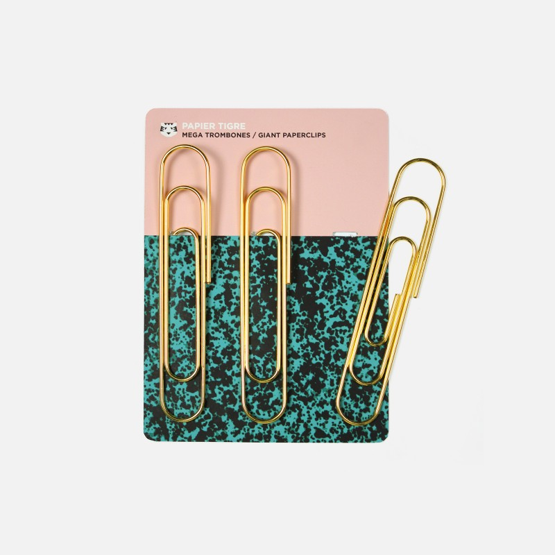 Giant Paperclips (Set of 3)