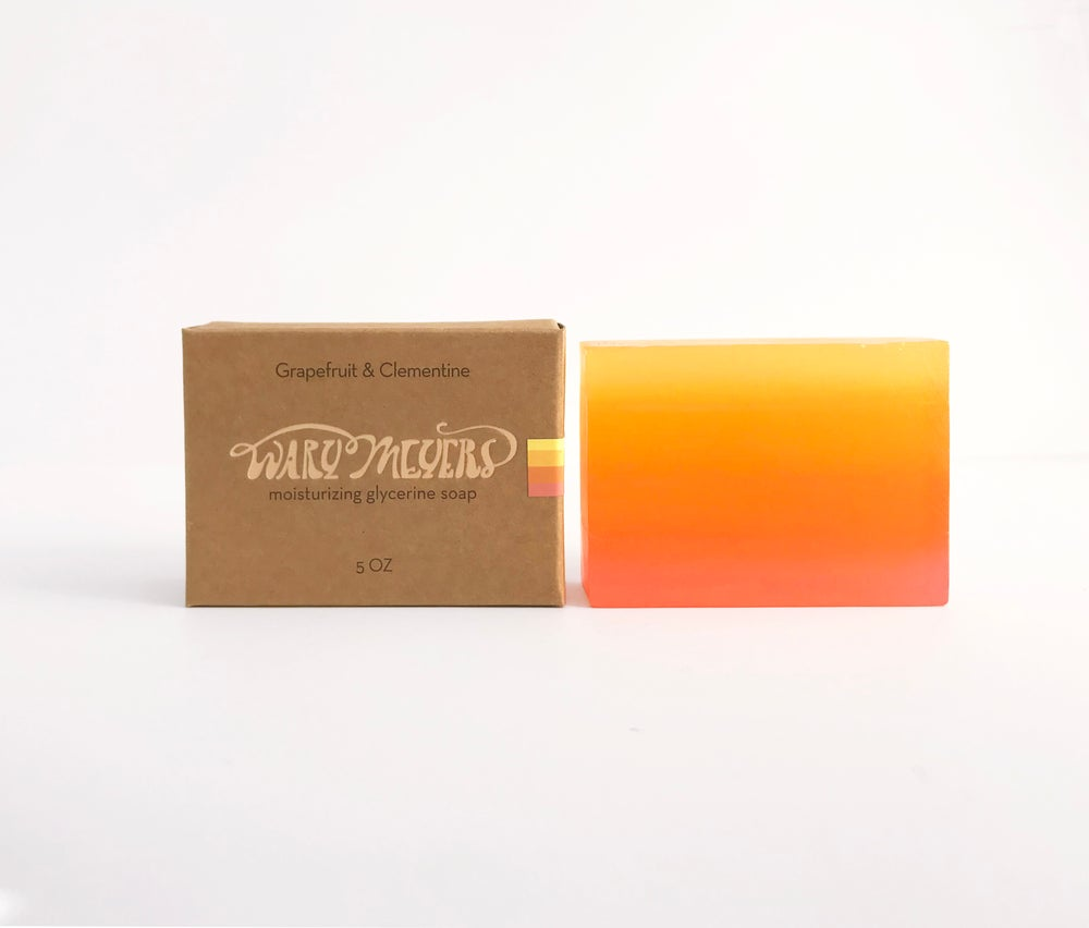 Grapefruit and Clementine Soap