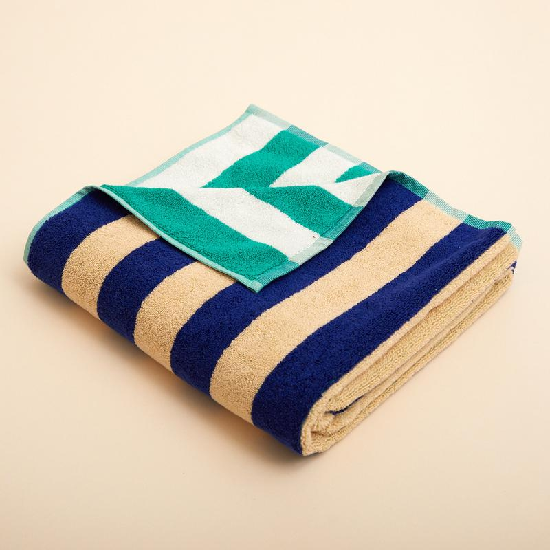Dusen Dusen - Cool Stripe Bath Towel