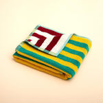 Dusen Dusen - Yellow Stripe Hand Towel
