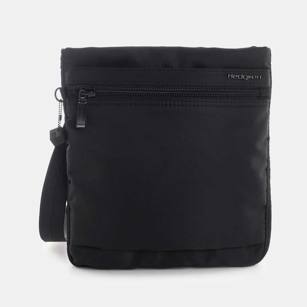 LEONCE Small Vertical Crossbody RFID