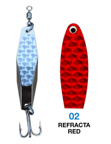 Deadly Dick Diamond Lure - 02 - Refracta Red