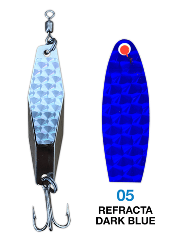 Deadly Dick Diamond Lure - 05 - Refracta Dark Blue