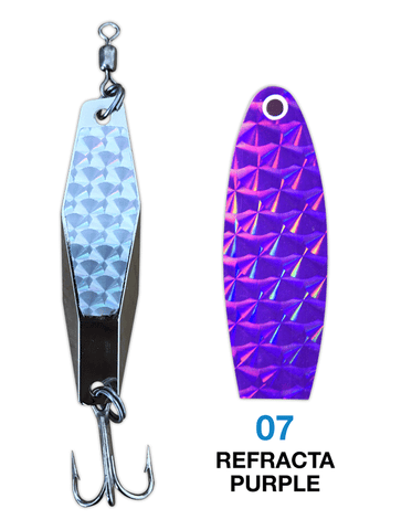 Deadly Dick Diamond Lure - 07 - Refracta Purple