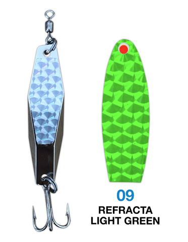 Deadly Dick Diamond Lure - 09 - Refracta Light Green