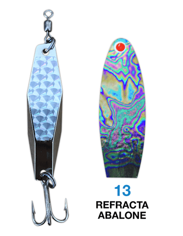 Deadly Dick Diamond Lure - 13 - Refracta Abalone