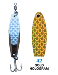 Deadly Dick Diamond Lure - 42 - Gold Hologram