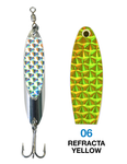 Deadly Dick Standard Lure - 06 - Refracta Yellow