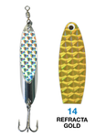 Deadly Dick Standard Lure - 14 - Refracta Gold